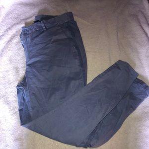 Gap Girlfriend Chino Ankle Pants
